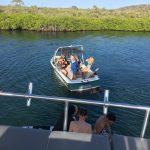 Op Curacao wakeboarding