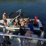 Gezellig wakeboarden op Curacao