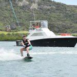 Wakeboarding op curacao