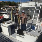 Vis vangen op Curacao